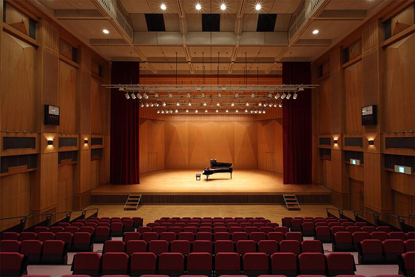 ホールの写真