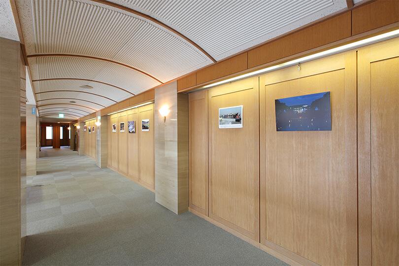 展示コーナーの写真